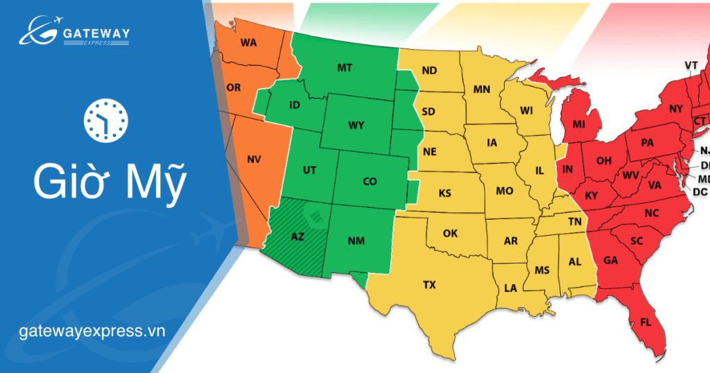 Giờ Mỹ và cách xác định giờ bên Mỹ nhanh nhất