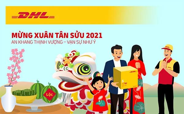 Lịch nghỉ Tết DHL: Tết nguyên đán năm 2021