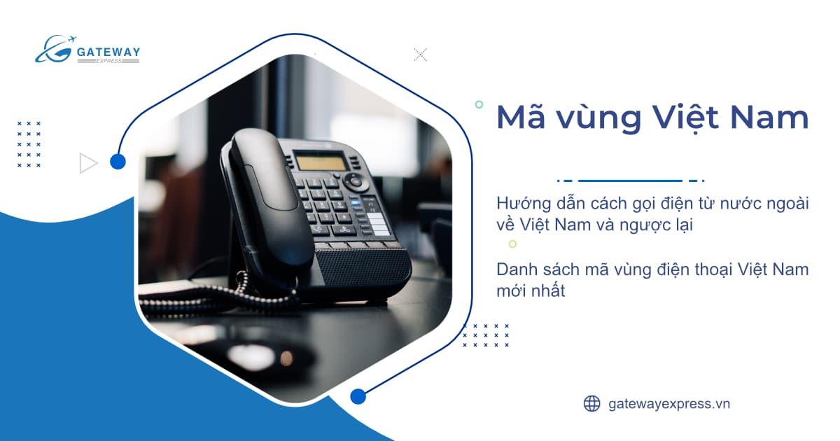 mã vùng Việt Nam