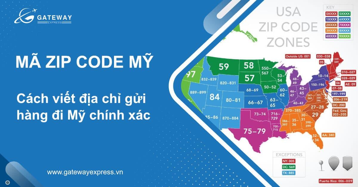 zip code Mỹ